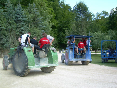 RINGHOFFER Team Event Tractor