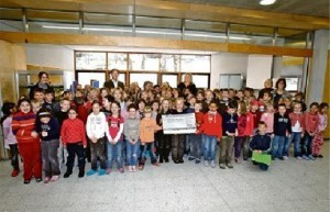 Firma Ringhoffer spendet 15.000 Euro an Kohlberger Schule