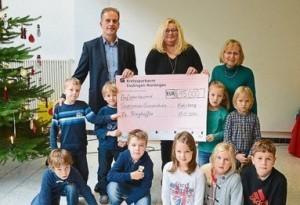 15.000 Euro für Schulsozialarbeit