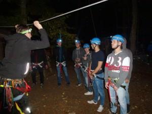 Azubi-Ausflug 2016: Im Abenteuerpark Lichtenstein.