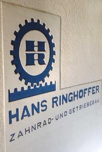 erstes Logo der Hans Ringhoffer Zahnrad- und Getriebebau