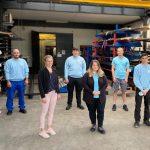 Wir begrüßen unsere neuen Auszubildenden in den Bereichen:: Zerspanungsmechaniker, Maschinen- und Anlagenführer und Industriefkauffrau